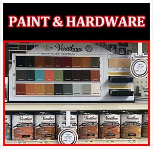 Paint & Hardware